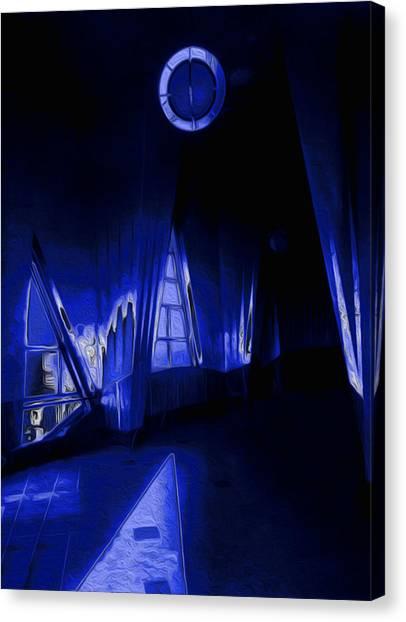 De Stijl Canvas Print - 6 O'clock  by Jack Zulli