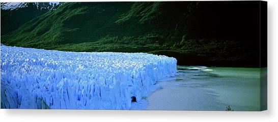 Perito Moreno Glacier Canvas Print - Perito Moreno Glacier In The Los by Martin Zwick