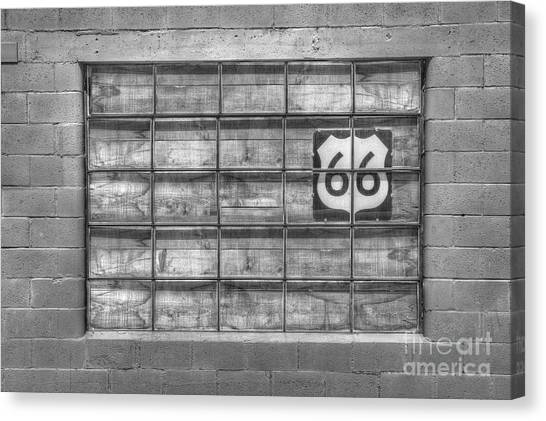 Historic Route 66 Canvas Print - Route 66 by Twenty Two North Photography