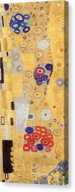 Gustav Klimt Canvas Print - The Kiss by Gustav Klimt