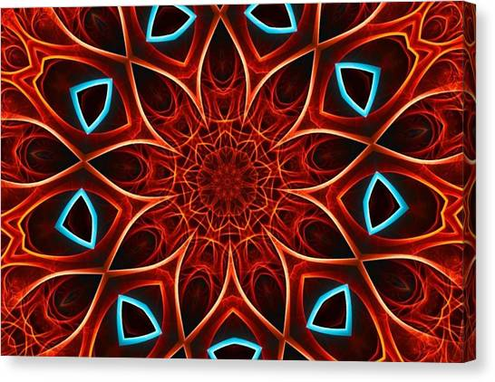 Bases Canvas Print - The Mandala - Untitled by Esoteric Art