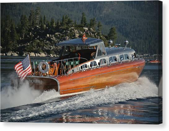 Thunderbird Lake Tahoe Canvas Print by Steven Lapkin