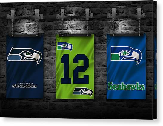 Seattle Seahawks Canvas Print - Seattle Seahawks by Joe Hamilton