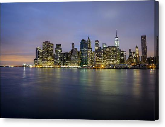 600am Canvas Print by Johnny Lam