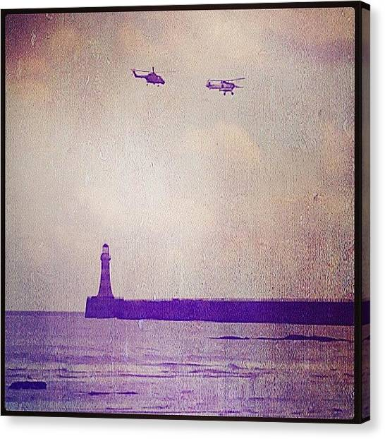 Helicopters Canvas Print - Instagram Photo by Vicky Combs