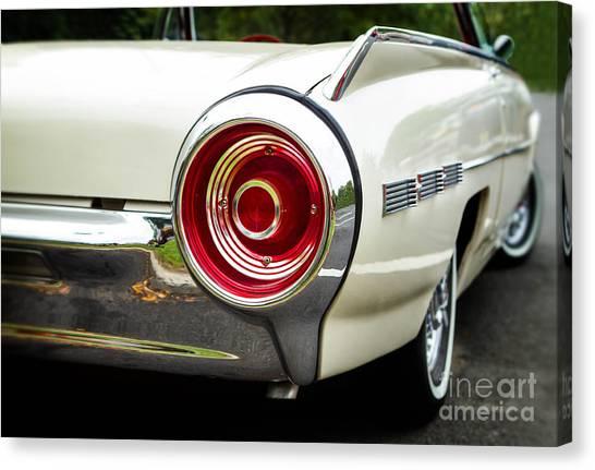 62 Thunderbird Tail Light Canvas Print