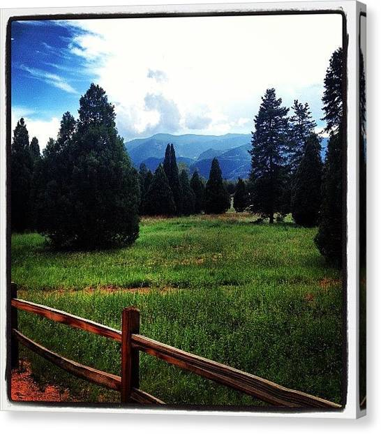 Rocky Mountains Canvas Print - Instagram Photo by Mike Ratliff