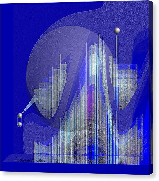 629 - City Of Future 5 .... Canvas Print