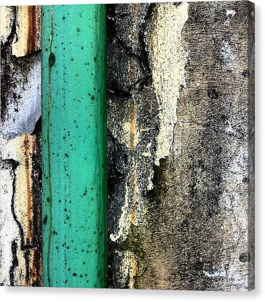 Abstract Canvas Print - Urban Wall 4 by Jason Michael Roust