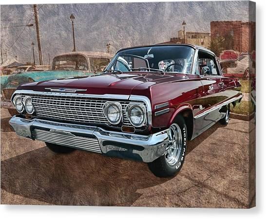 '63 Impala Canvas Print