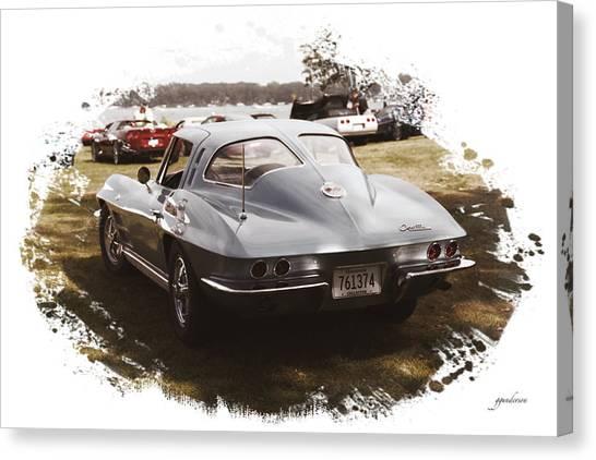 63 Vette Canvas Print