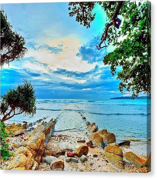 Seas Canvas Print - Love This Picture? Check Out My Gallery by Tommy Tjahjono