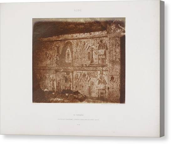 Political Science Canvas Print - Photograph Of The Egyptian Landscape by British Library
