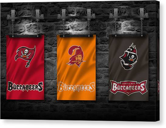 Tampa Bay Buccaneers Canvas Print - Tampa Bay Buccaneers by Joe Hamilton