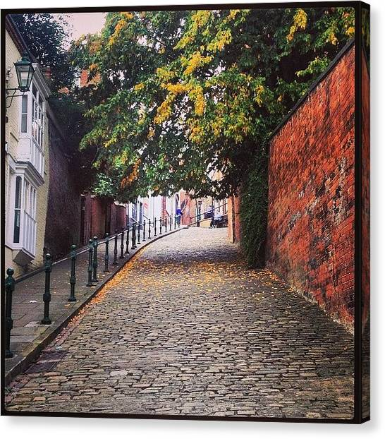 Autumn Leaves Canvas Print - Instagram Photo by Mike Ratliff