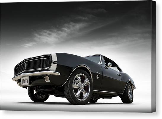 Muscles Canvas Print - '67 Camaro Rs by Douglas Pittman