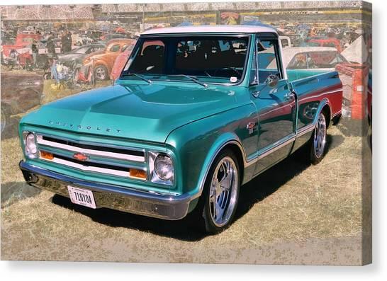 '67 Chevy Truck Canvas Print