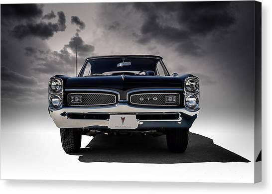 Automobiles Canvas Print - '67 Gto by Douglas Pittman