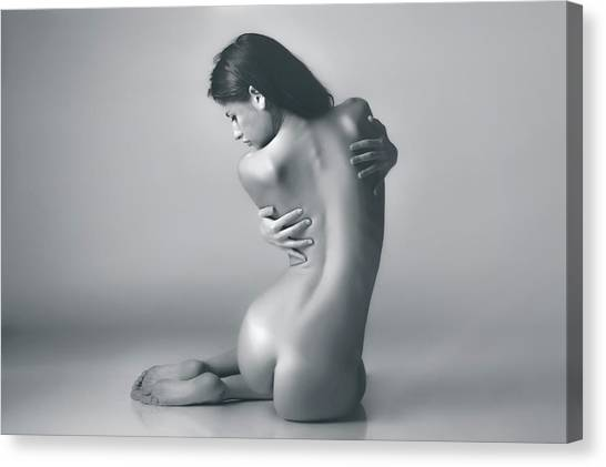 Feet Canvas Print - 6762 by Riccardo Liporace