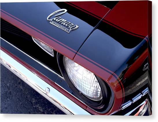 '68 Camaro Canvas Print by Mike Maher