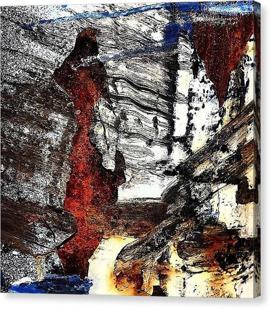 Abstract Canvas Print - Abstract Post 4 by Jason Michael Roust