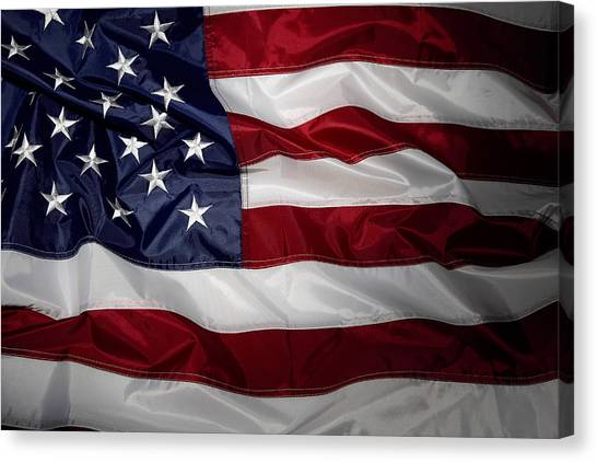 American Flag 52 Canvas Print