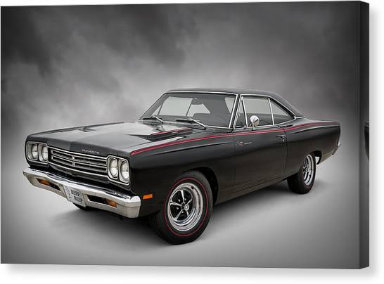 Muscles Canvas Print - '69 Roadrunner by Douglas Pittman