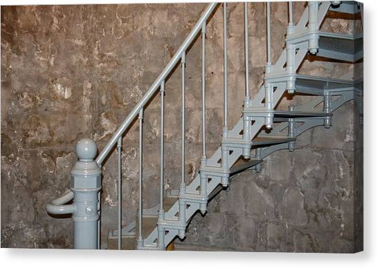 69 Steps Canvas Print