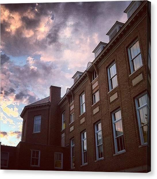 Professors Canvas Print - Instagram Photo by Jennifer Gaida