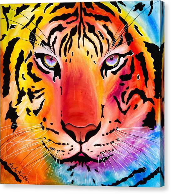 6983 Tiger Canvas Print