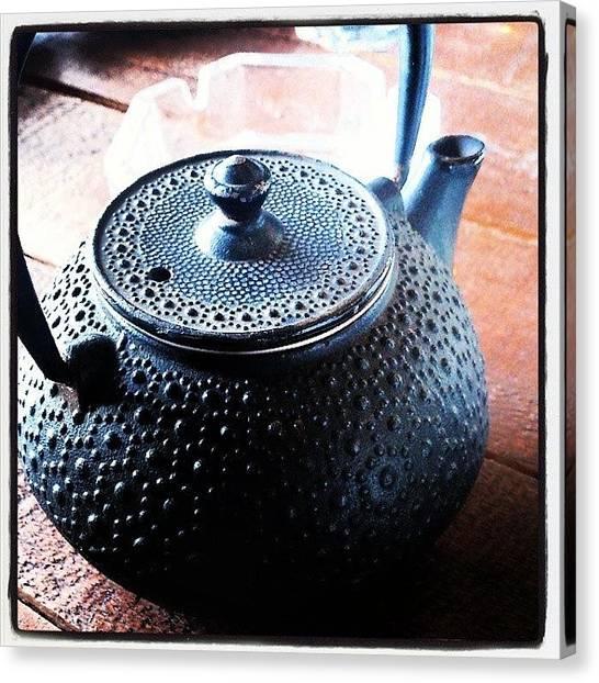 Tea Canvas Print - Dreamy Feeling by Lefteris Sfyridis
