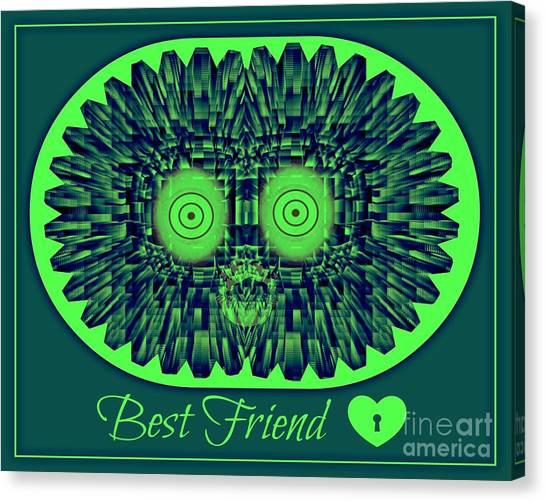 Best Friends Canvas Print by Meiers Daniel
