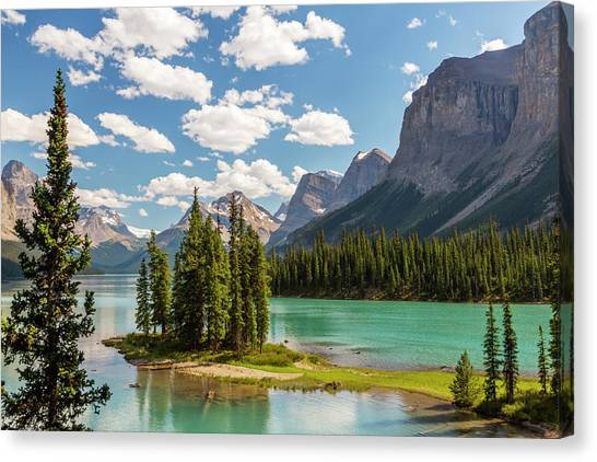Alberta Canvas Print - Canada, Alberta, Jasper National Park by Jamie and Judy Wild
