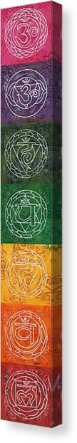 7 Chakras Canvas Print