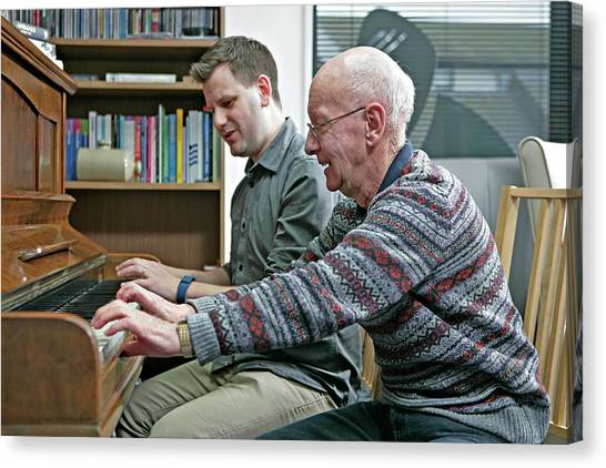 Dementia Resource Centre Canvas Print by Lewis Houghton/science Photo Library