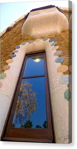 Gaudi Canvas Print by Olga Breslav