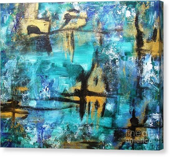 #7 Canvas Print by Jacqueline Howett