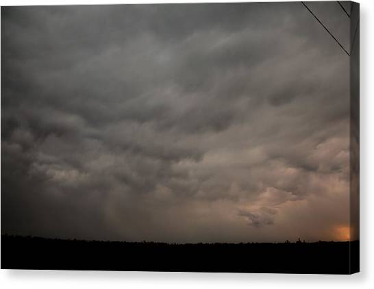 Canvas Print featuring the photograph Let The Storm Season Begin by NebraskaSC