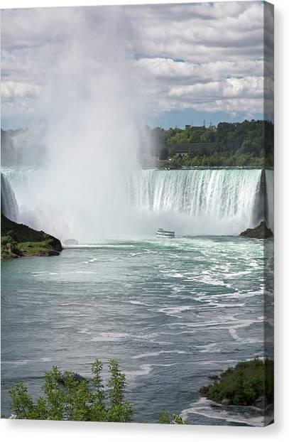 Horseshoe Falls Canvas Print - Niagara Falls by Jim West