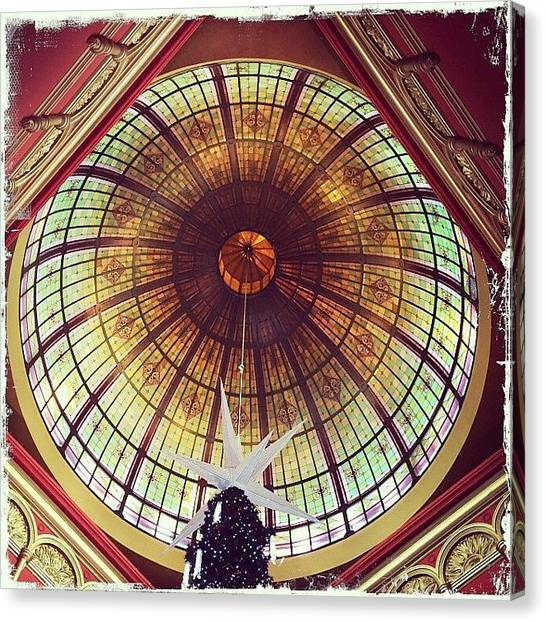 Art Deco Canvas Print - Queen Victoria Building by Jing Xia