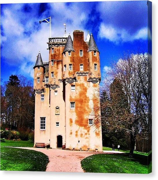 Fantasy Canvas Print - Scottish Castle by Luisa Azzolini