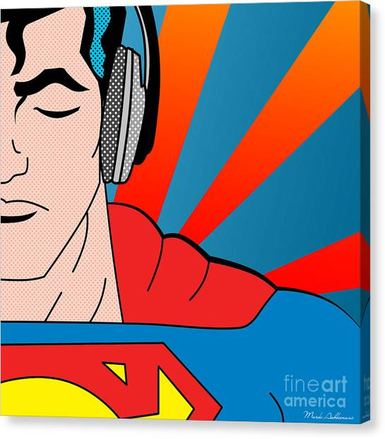 Canvas Print - Superman  by Mark Ashkenazi