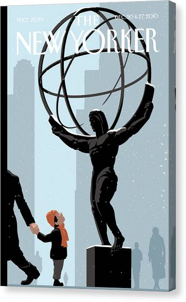 New Yorker December 20th, 2010 Canvas Print