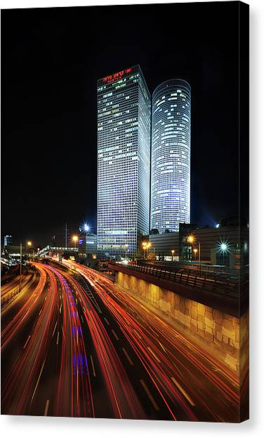 Skyscrapers Canvas Print - Untitled by E.amer