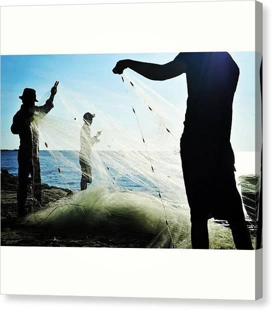 Backpacks Canvas Print - #vietnamtravel #vietnam #vietnamtrip by An Chung