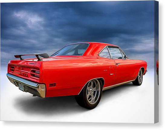 Roadrunner Canvas Print - '70 Roadrunner by Douglas Pittman