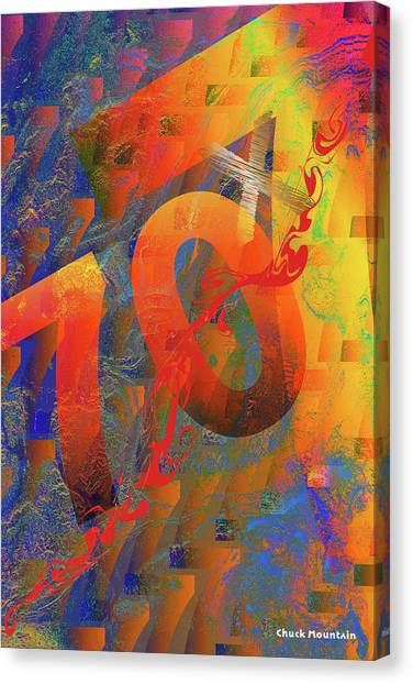 70 X 7 Canvas Print