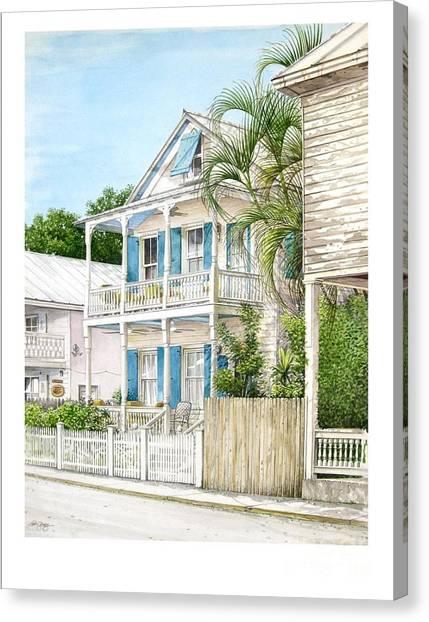 704 Caroline Street Canvas Print