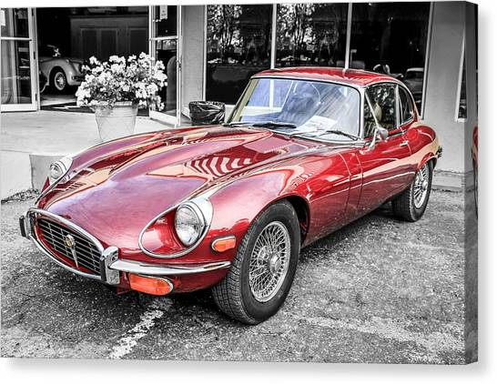 72 E-type Canvas Print
