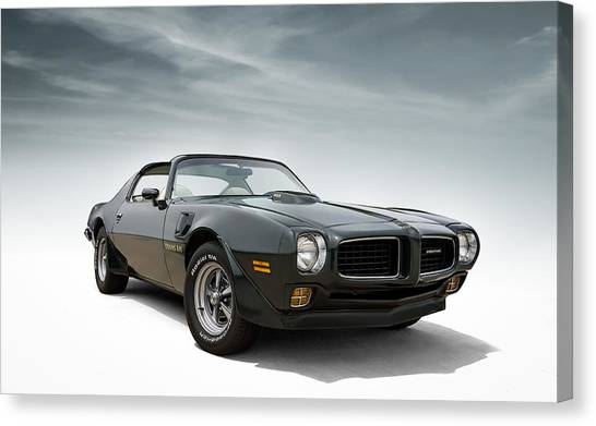 Muscle Cars Canvas Print - '73 Trans Am by Douglas Pittman